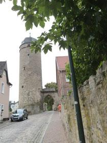 Turm und Stadtmauer