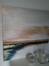Acryl auf Leinwand 100x100cm (verkauft!)