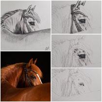 Detail Zeichnung 20x20cm