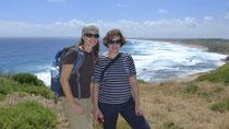 Mit Claudia auf Phillip Island