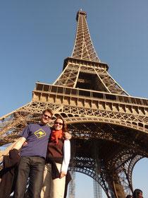 Eiffel-Turm in Paris