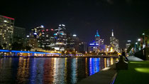 Abends am Yarra River