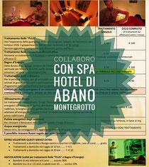 Collaborazione con Spa Hotel Abano Montegrotto