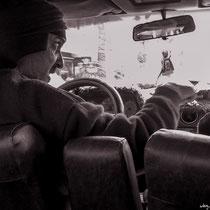 Mit dem Taxi zum Bus