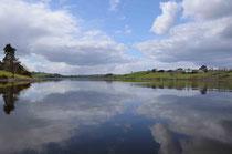 Der Lake Inniscarra in Irland