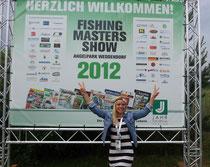 Babs auf den Fishing Masters 2012
