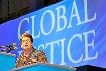 Discurso de la Confederación Sindical Internacional