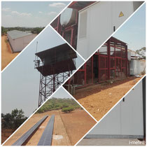 Industrielle Inselstromversorgung in Sambia / Industrial island grid solution in Zambia