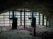 半原水源地取水口調整室