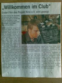 """Der neue Bericht (12.12.10) zur Premiere von """"Willkommen im Club"""""""