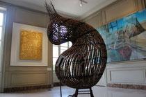 """""""L'Etoffe du Temps"""" : Yves Klein / Chen Zhen/ Marc Desgrandchamps..."""