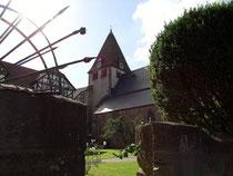 Die Wilhelm-Orgel ist in der Stiftskirche Kaufungen eingebettet
