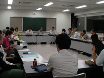 8月1日の全体実行委員会の様子