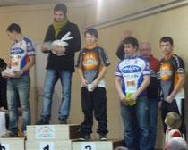 Podium Noyant d'Allier 2012
