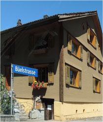 Das Haus an der Büelstrasse mit dem Igelbriefkasten war das Rätselobjekt. Maag-isch