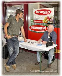 Kurt Kassel im Interview mit André Reithebuch, Reithebuch_Denner_Satellit_Buttikon_Kurt_Kassel_Marchanzeiger_Höfner_Maag-isch