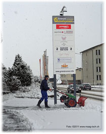 Im Zentrum Gutenbrunnen sorgt Mark GmbH für rutschfreie Zonen