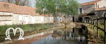 le moulin à eau et son bief