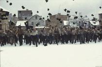So wurde früher der Schulabschluss gefeiert