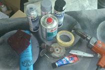 Meine Hilfsmittel... ;)