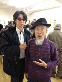 黒田オサムさん(右)と万城目純さん