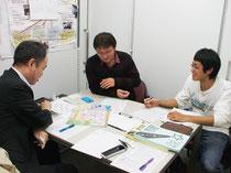 左より多田さん(実行委員)、上田さん、須藤さん(実行委員)