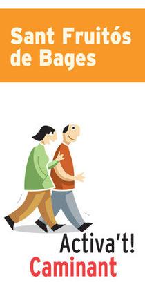 Cartel de promoción del programa en Sant Fruitós del Bages