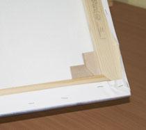 Die Holzkeile sind ein wichtiger Bestandteil der Rahmen