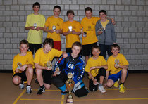 Gruppenbild des Siegerteams