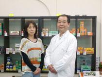 長岡市の漢方相談ができる漢方薬局「中村薬店」のスタッフ