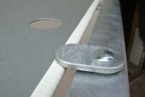 Kantenschutz mit eingebettetem Stahlgerüst für Mammut-Raufen, Mammut Raufen, Heuraufe