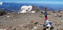 Ausblick vom Gipfel des Aconcagua