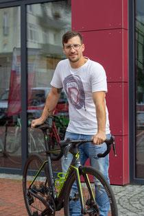 Gesicht Patrick Bülter Verkäufer von E-Bikes und mietrad Chef