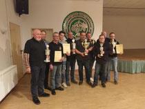 Die Pokal- und Sonderpreisgewinner