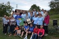 Im Bild: das Team vom Land um Laa samt HelferInnen