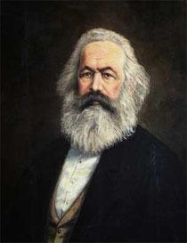 Karl Marx, Soleil conjoint à la Lune