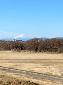 富士山がくっきり♪