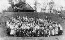 parafianie z Królowej Ruskiej i Boguszy na święcie parafialnym 21 września 1929 roku