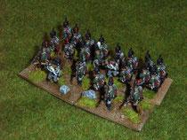 kleine leichte Infanterieeinheit in taktischer Formation