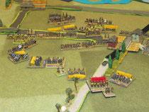 Showdown: Hassenhausen wurde von den Preussen besetzt.