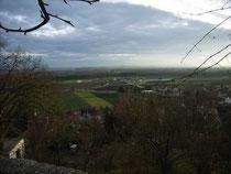 Das Gelände des französischen Aufmarsches vor Elchingen.