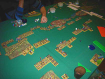Kampf gegen Wilde und Piraten