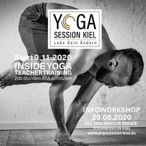 200 h Yogalehrer Ausbildung Kiel, Yoga Alliance AYA, Yoga Alliance (www.yogaalliance.org) als Teachertraining anerkannt, Young Ho Kim - Inside Yoga - Inside Flow