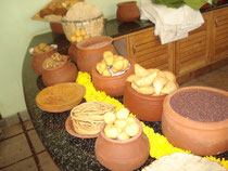 """Festival of old recipes, """"Green Path"""" organic store"""