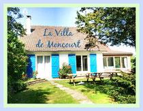 Villa de Moncourt Gïtes des Garennes Location vacances Rue, Baie de Somme, Marquenterre