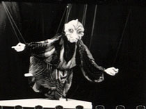 Ausstellung Theater-Marionette, Tlaloc, Zaragoza