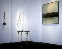 Amador Vallina con [artefacto] en Arthouse im Rathaus, Ingelheim, 1993