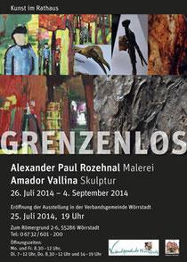 Kunst im Rathaus: Grenzenlos - A. P. Rozehnal und A. Vallina