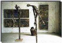 Amador Vallina: Exposición individual de pintura y escultura