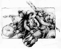 Cartel: Subasta de Pinceles